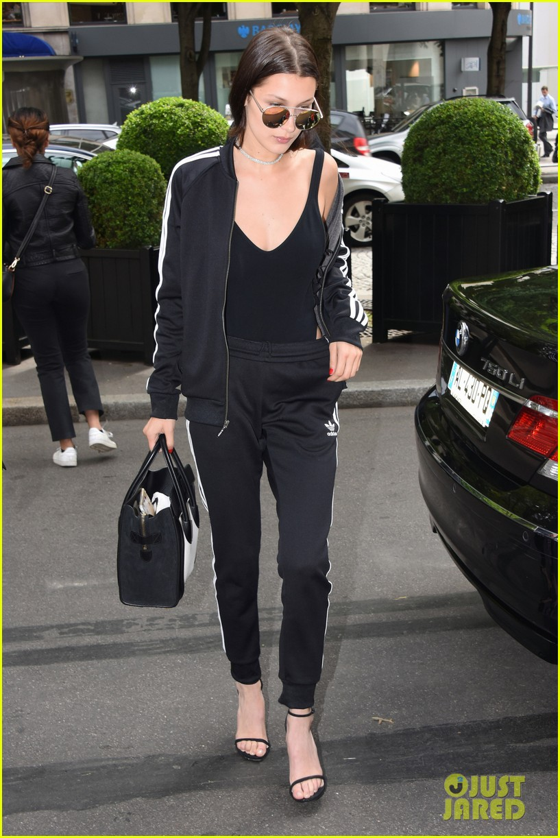 198ad20ab10fc Kendall Jenner   Bella Hadid Have Matching Hair for Givenchy Show