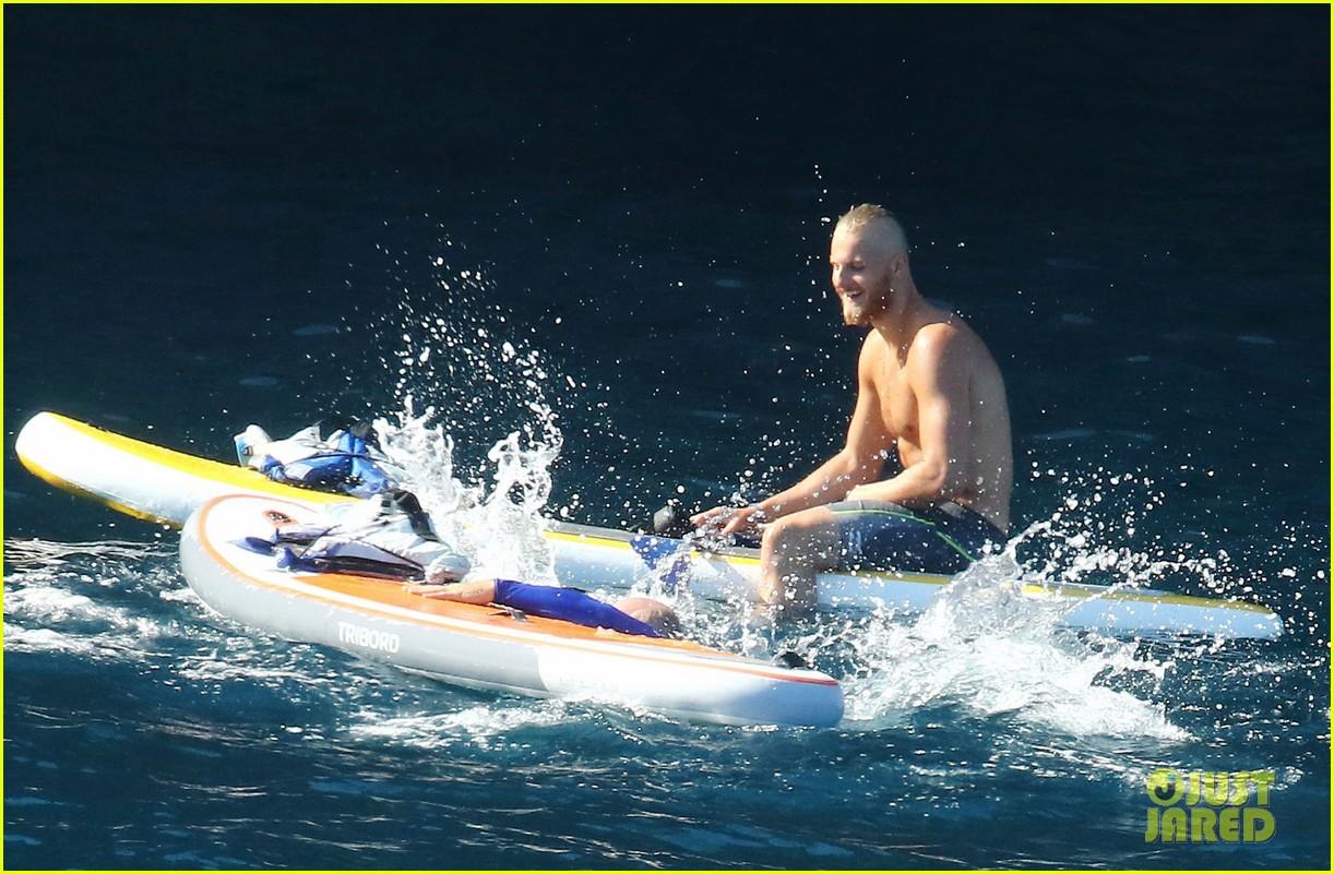 alexander ludwig dives water fun sister natalie bday 05