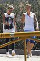 Bieber-hike justin bieber sofia richie step out after romatic beach date 01