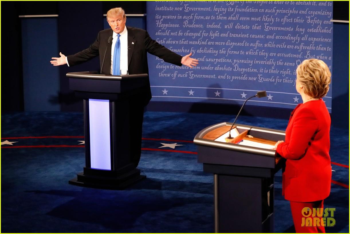 celebs tweet presidential debate 01