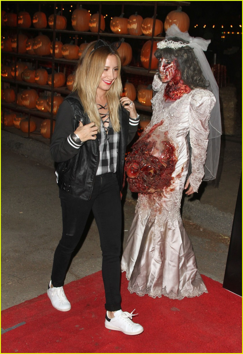 ashley tisdale jamie chung halloween party 01 - Ashley Tisdale Halloween