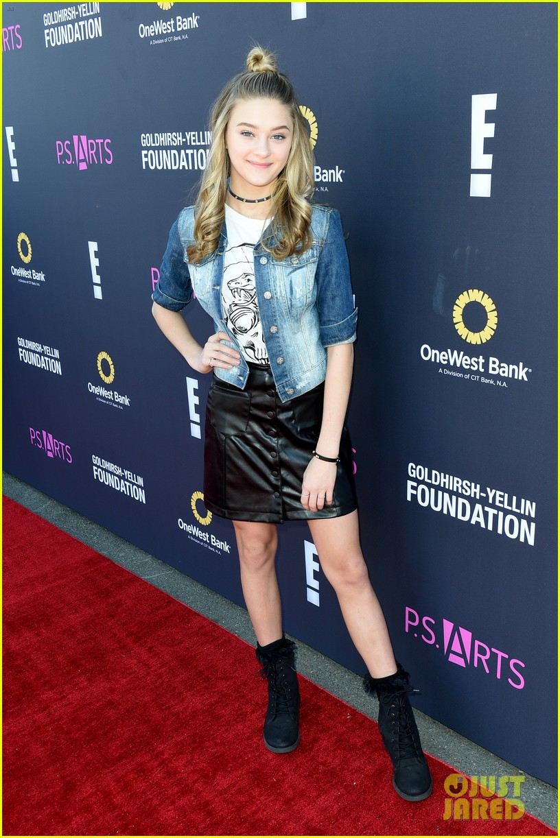 katie leclerc lizzy greene more attend ps arts express yourself 2016 03