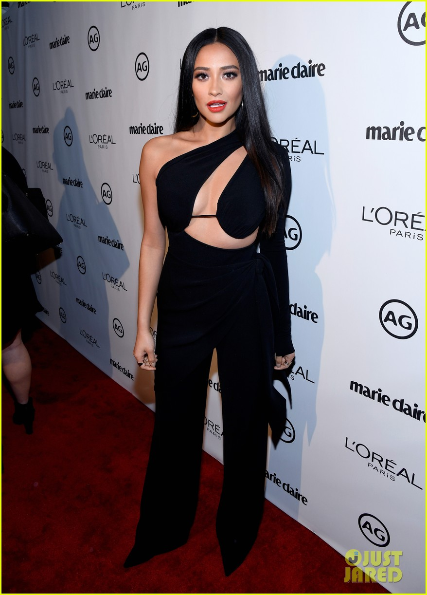 kylie jenner olivia holt dove cameron marie claire event 15