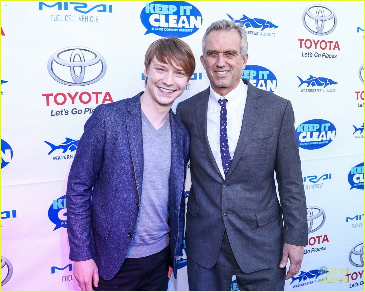 calum worthy keep clean water event 05