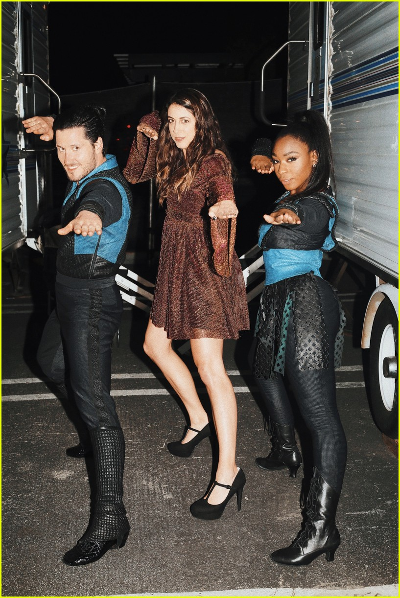normani kordei val mulan bts disney night dwts 02