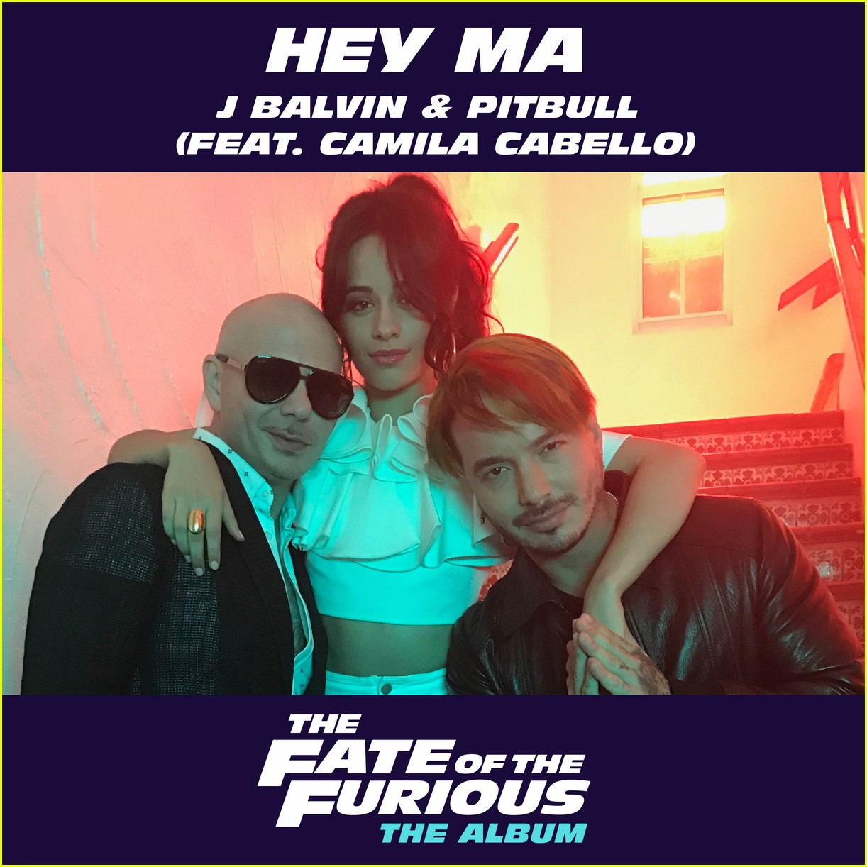 watch pitbull camila cabello and j balvin in hey ma english vesion music video 02