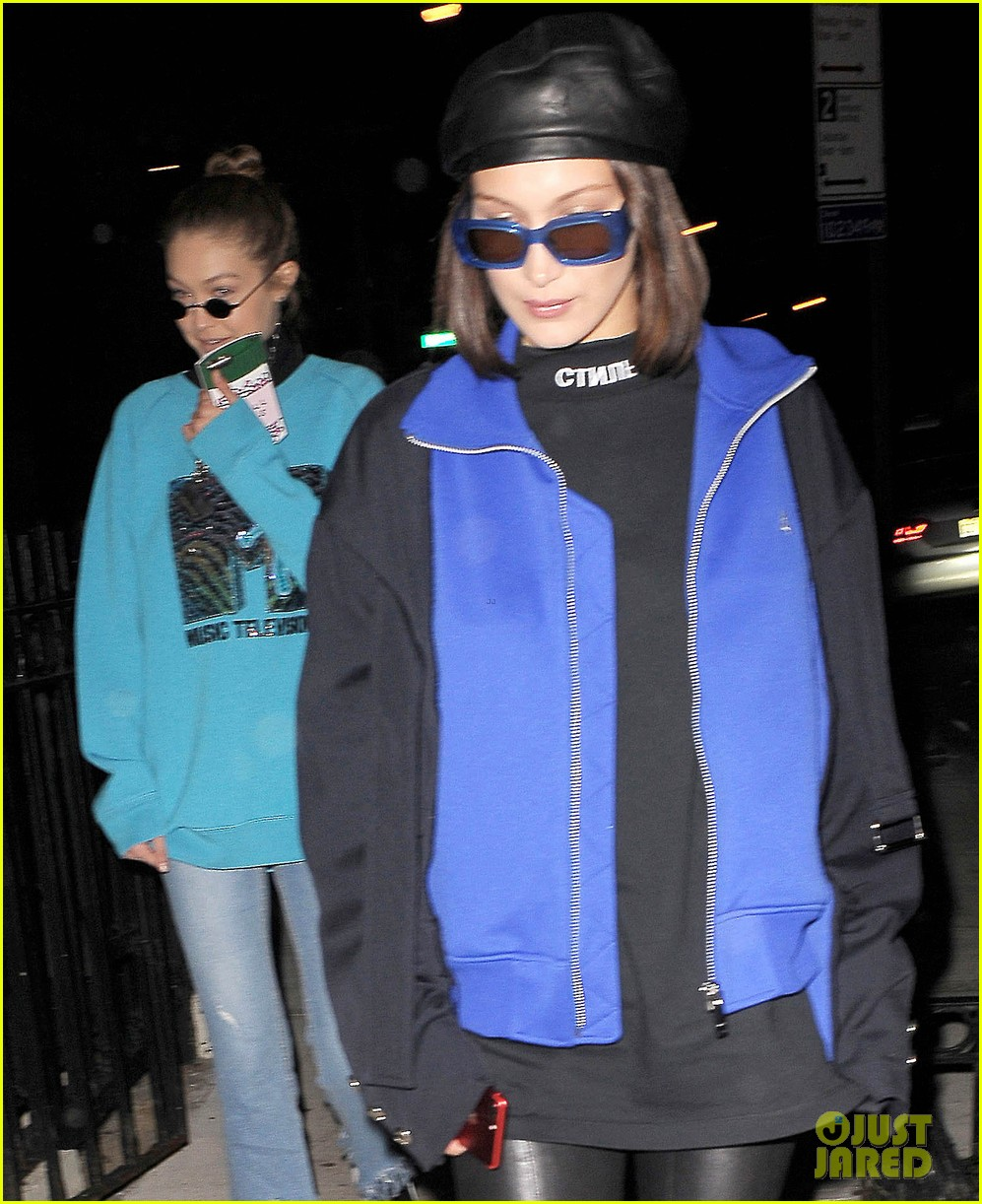 kendall jenner heads to dinner with gigi bella hadid02