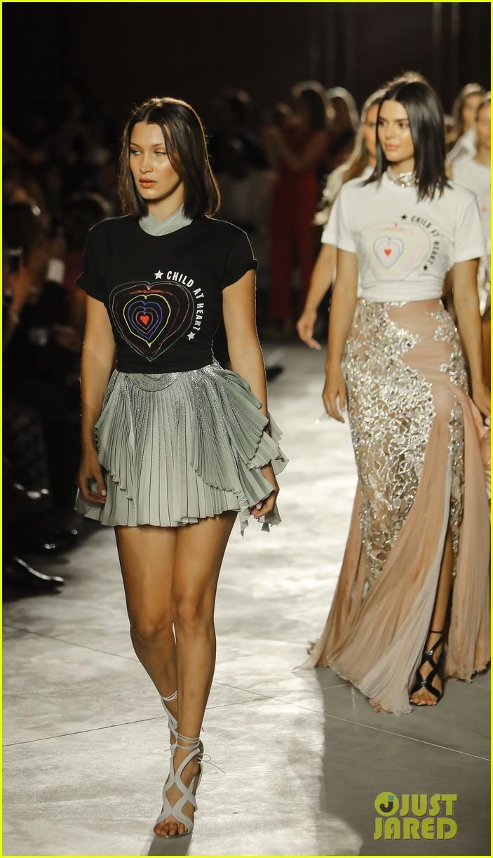 Kendall Jenner & Bella Hadid Walk the Runway for a Good ...