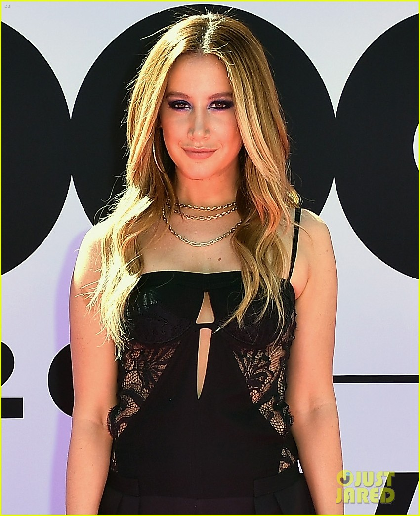 ashley tisdale shows off some skin at billboards01