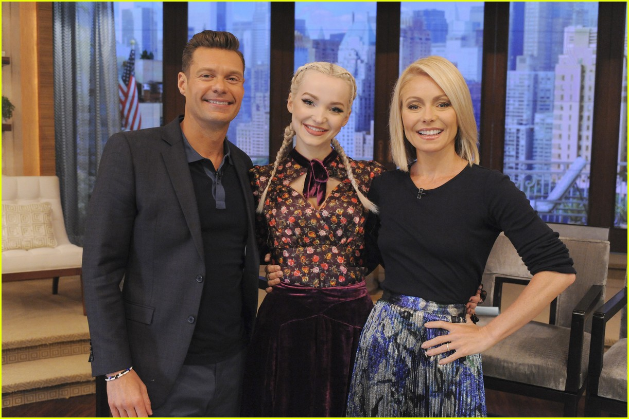 dove cameron live kelly ryan interview 03