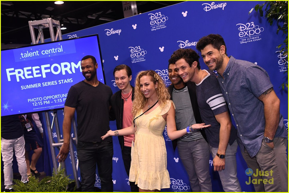 kyle harris hayden byerly d23 expo freeform guys 04