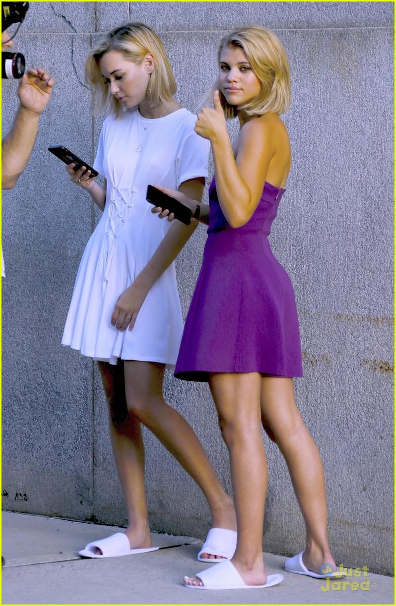 lottie moss sofia richie sistine sarah fashion campaign nyc 01