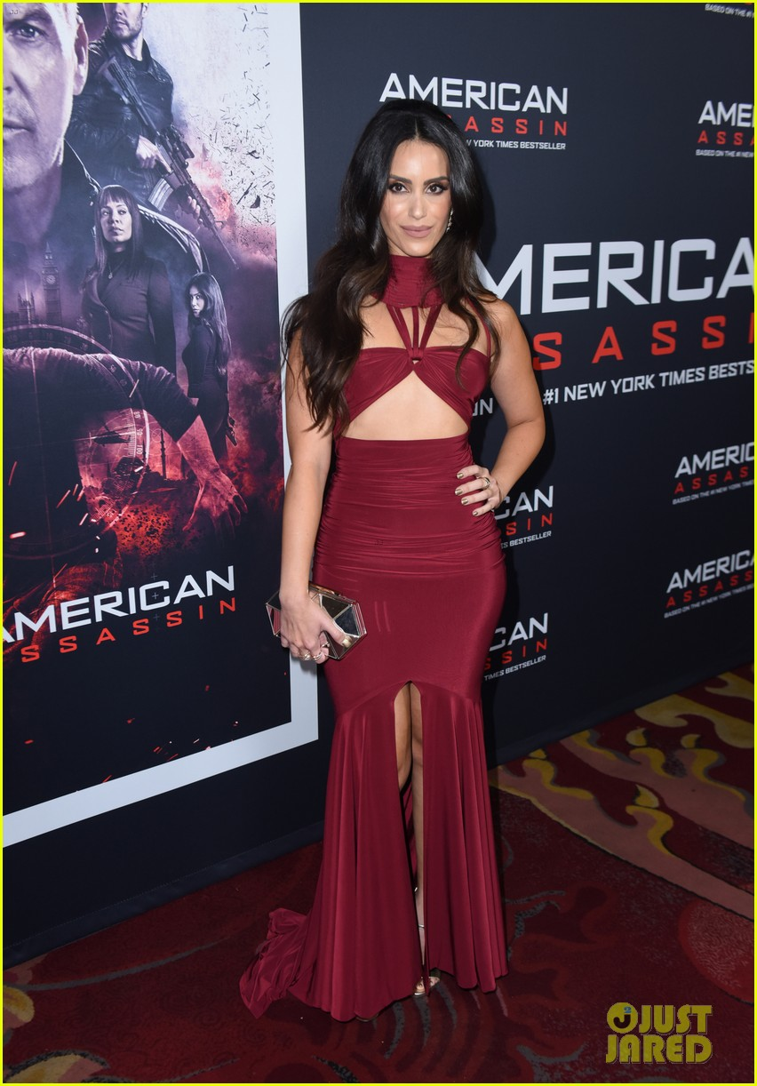 tyler posey supports dylan obrien at american assassin la premiere 04