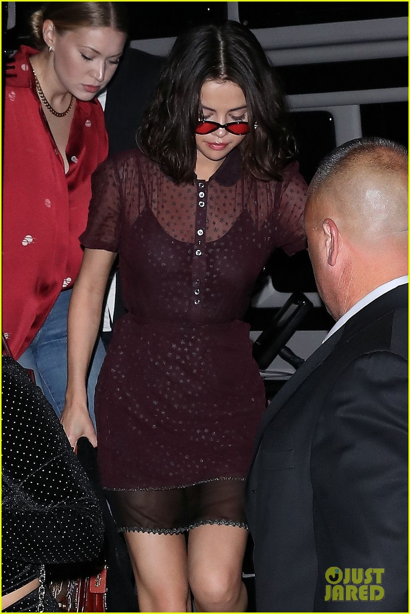 selena gomez stuns in sheer for dinner in nyc 03