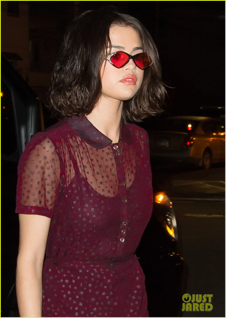 selena gomez stuns in sheer for dinner in nyc 04