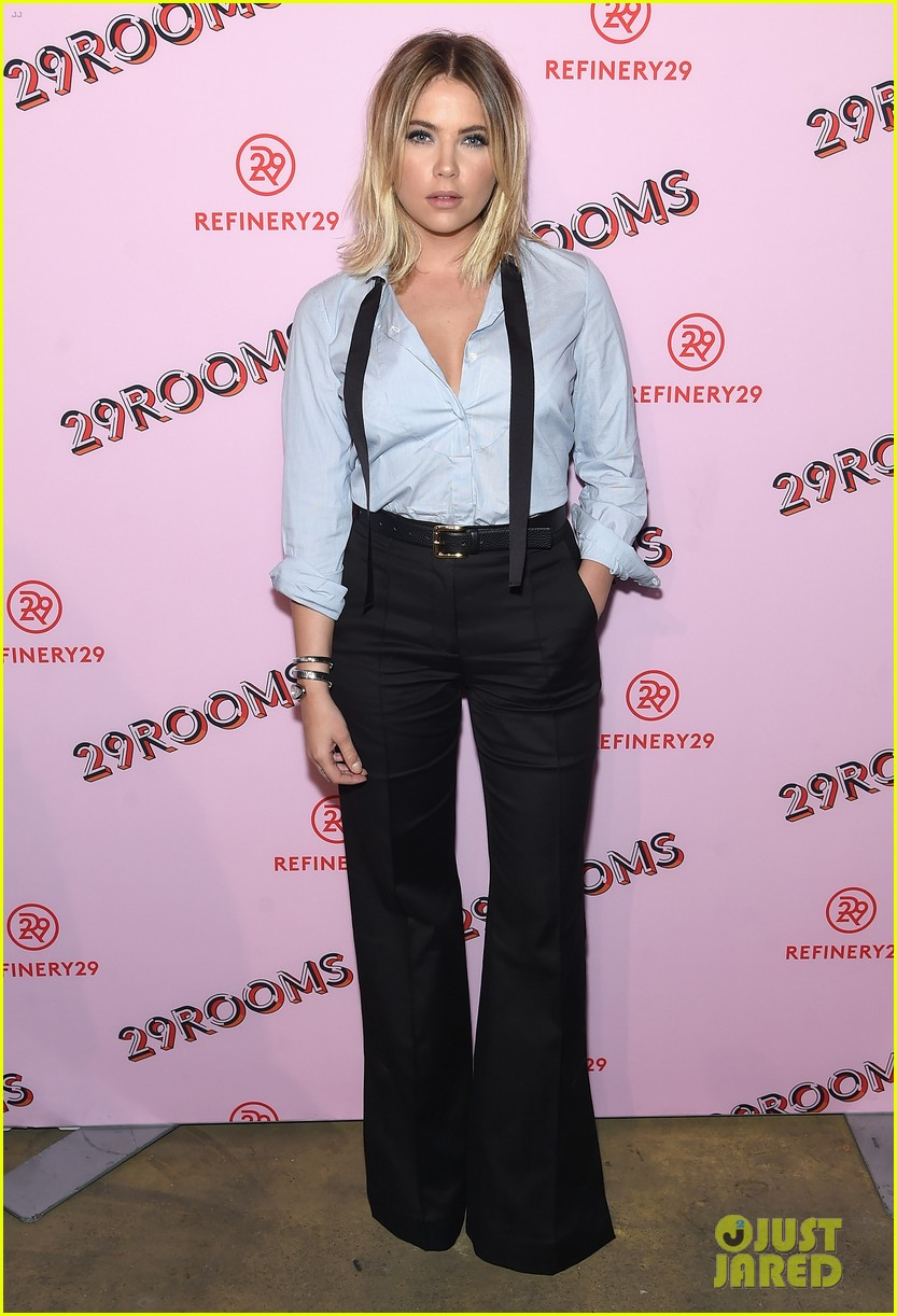 bella thorne emma roberts and ashley benson step out for 29rooms event 20