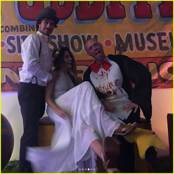 vanessa hudgens hosted a freak show halloween party 03