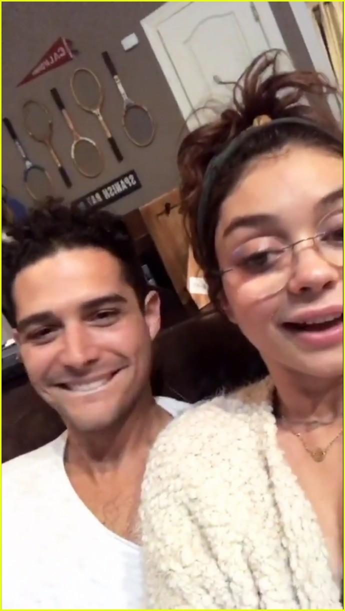 sarah hyland wells adams pda instagram story 10