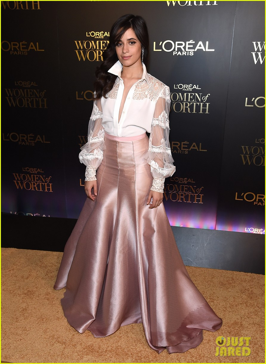 camila cabello and ashley benson glam it up for loreal paris women of worth celebration 01