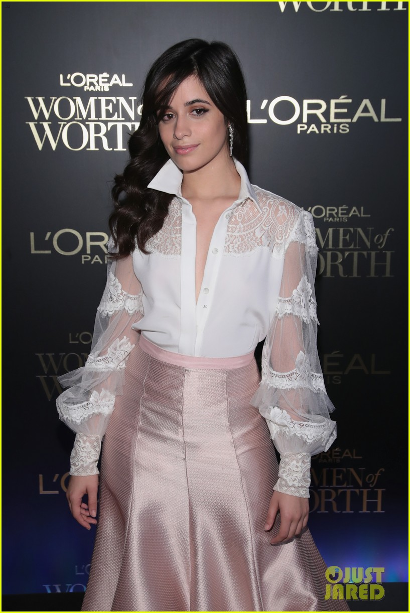 camila cabello and ashley benson glam it up for loreal paris women of worth celebration 04