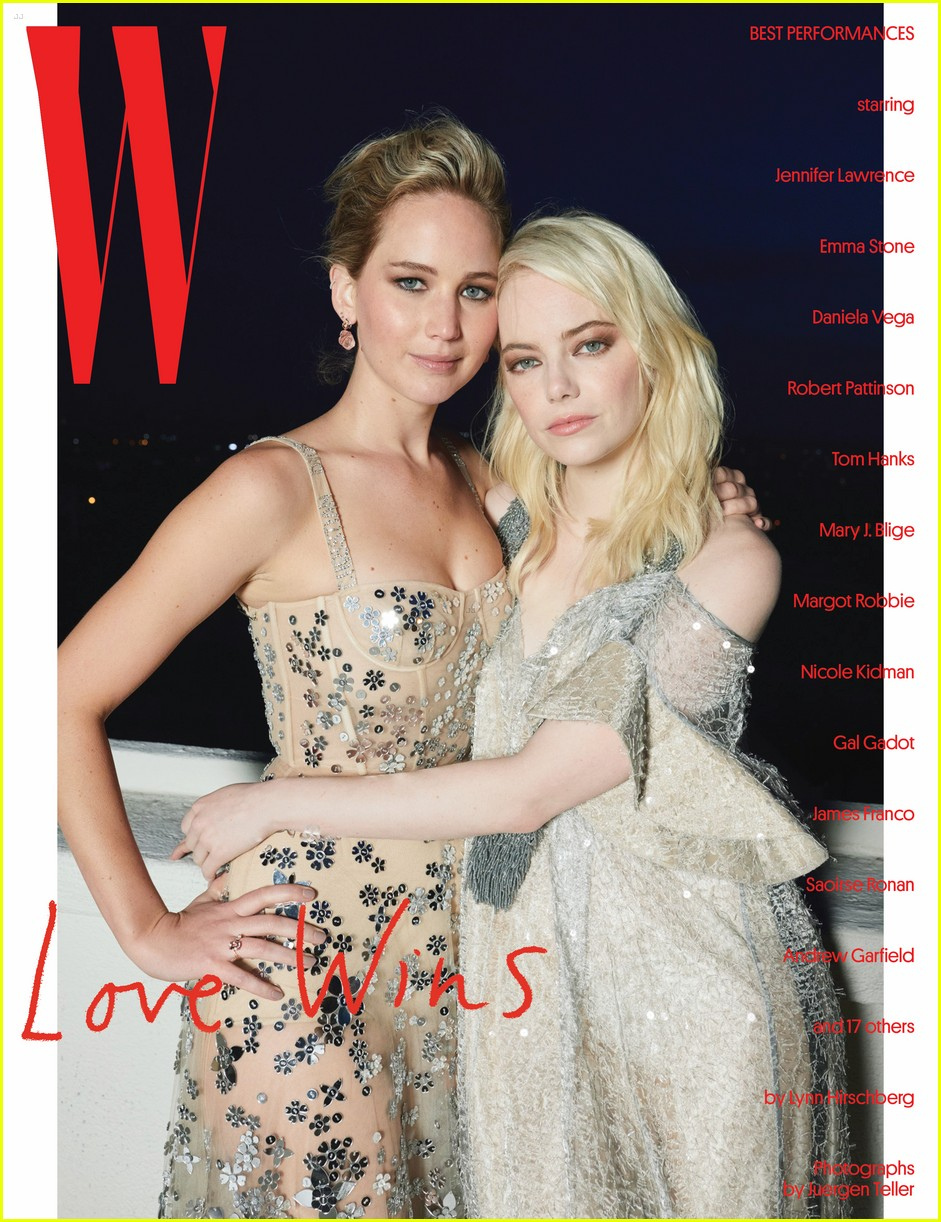 emma stone jennifer lawrence friendship w mag 01