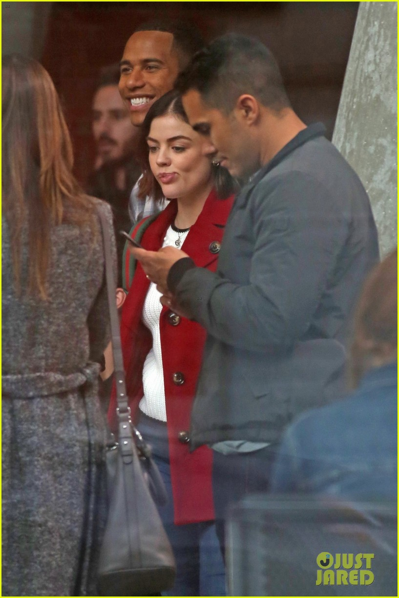 lucy hale elliot knight back to work life sentence 01